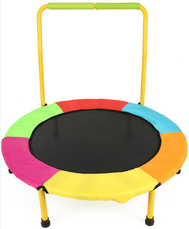 36-Inch Children's Mini Trampoline With Padded Frame Cover
